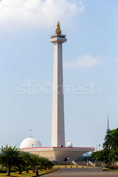 National Monument in Jakarta Stock photo © artush