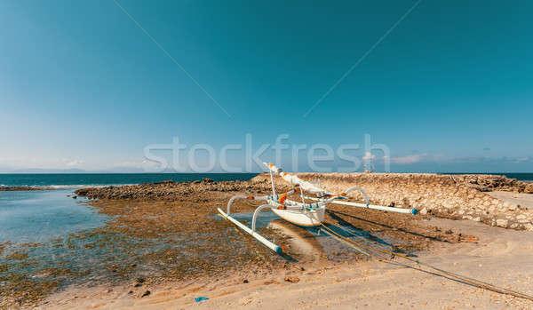 catamaran boat, Bali Indonesia Stock photo © artush