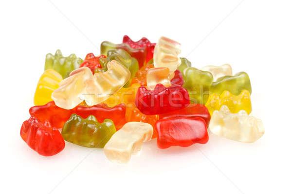 Medvék színes zselé medve cukorkák szett Stock fotó © artush