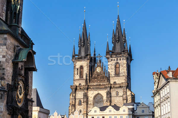 The Church of Our Lady before Tyn 2014 Stock photo © artush