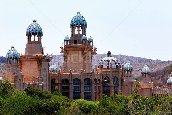 panorama of Sun City, The Palace of Lost City, South Africa Stock photo © artush