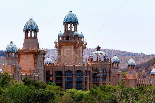 Панорама солнце город дворец потеряли ЮАР Сток-фото © artush