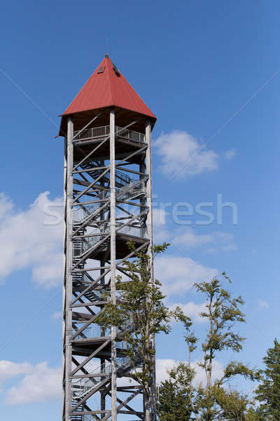 Lookout tower U Jakuba, Czech Republic Stock photo © artush