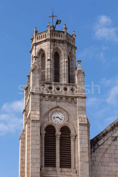 Andohalo cathedral, Antananarivo, Madagascar Stock photo © artush