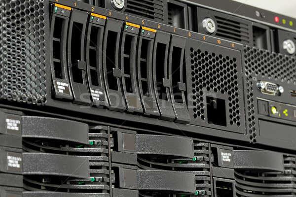 серверы центр обработки данных компьютер Сток-фото © artush