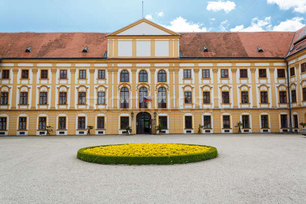 известный барокко Чешская республика небе весны трава Сток-фото © artush