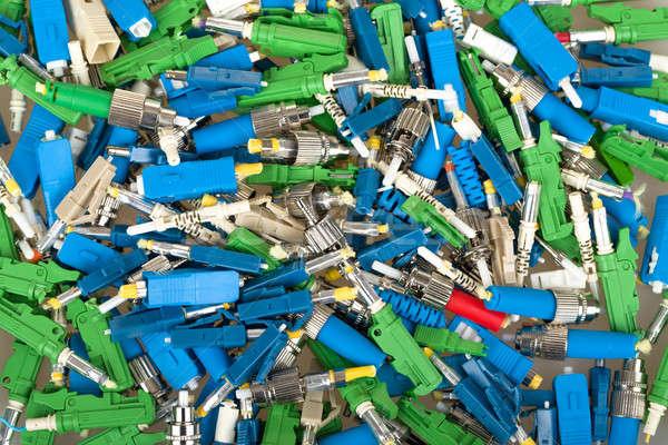 Faser unterschiedlich Computer Internet Stock foto © artush