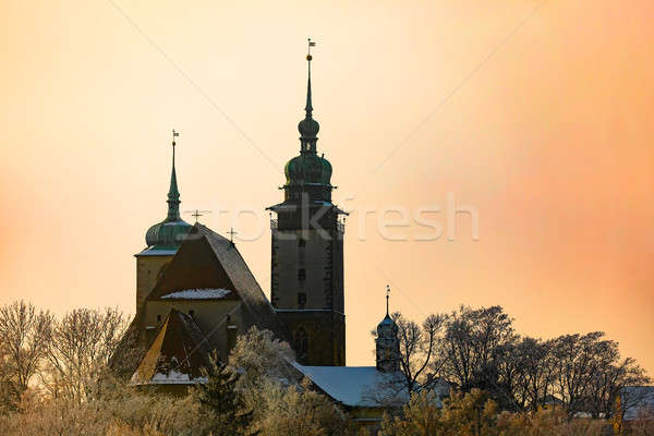 Stock photo: Church of St. James the Greater in Jihlava, Czech Republic