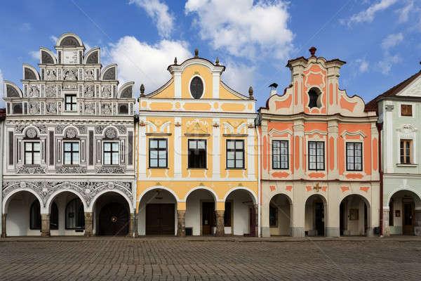 Çek Cumhuriyeti unesco şehir evler ana Stok fotoğraf © artush