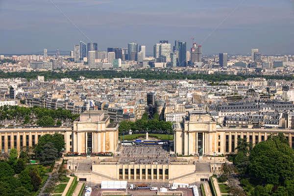 Stock photo:  la defence in paris france