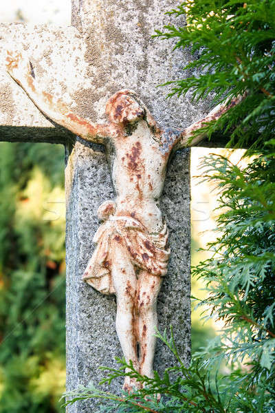 Crucifixion, Jesus Christ on the cross Stock photo © artush