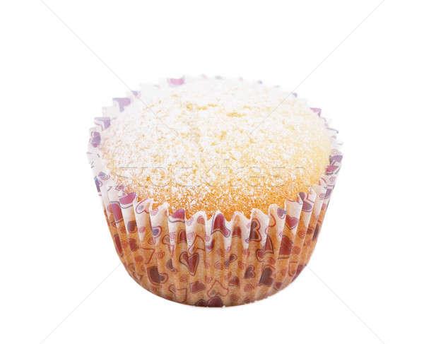fresh homemade Muffin isolated Stock photo © artush