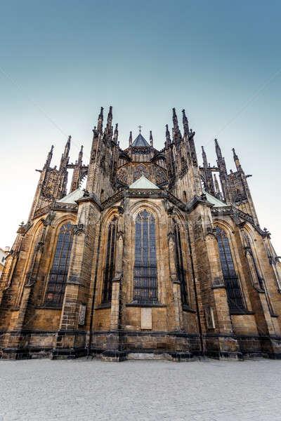 st. vitus cathedral in prague czech republic  Stock photo © artush