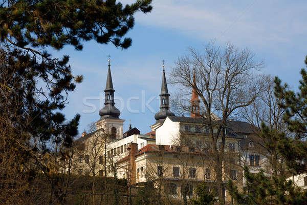 Church of St. James the Greater in Jihlava, Czech Stock photo © artush