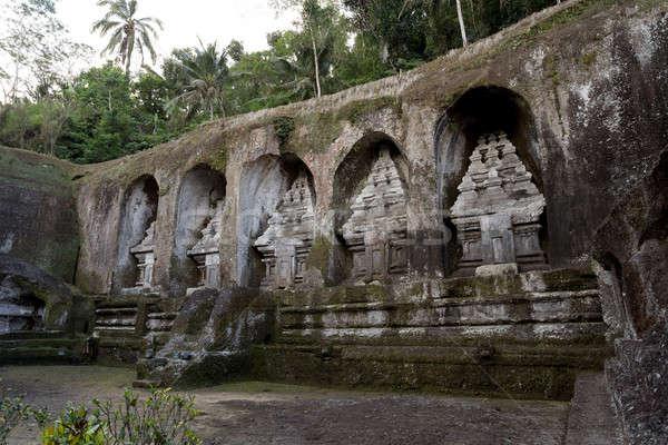 Gunung kawi temple in Bali, Indonesia, Asia Stock photo © artush