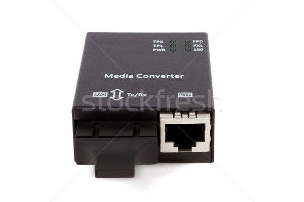 Mini rost optikai média internet technológia Stock fotó © artush