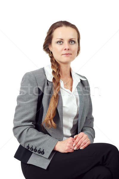 Middle age business woman Stock photo © artush