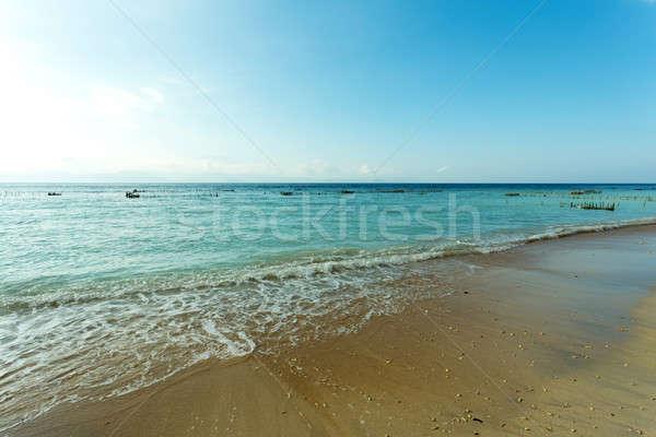 Sonho praia bali Indonésia ilha areia Foto stock © artush
