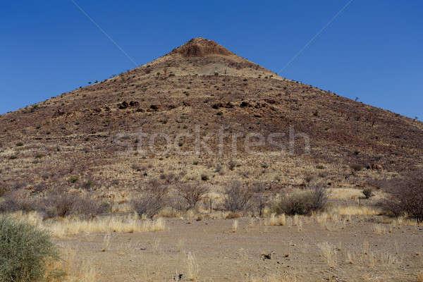 Fantastisch Namibië woestijn landschap regio dramatisch Stockfoto © artush