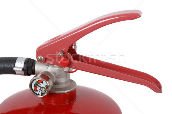 detail of fire extinguisher Stock photo © artush