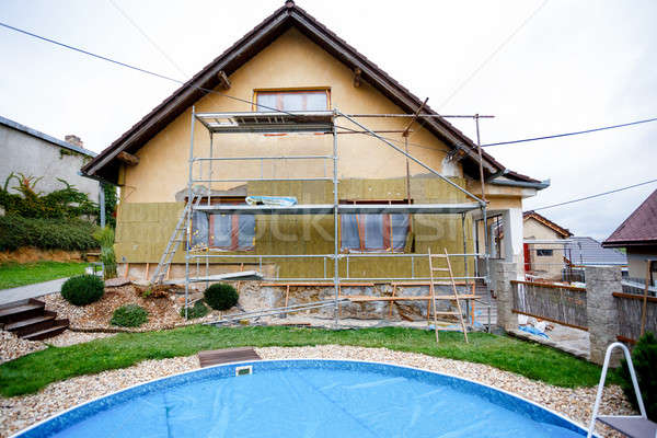 Construction or repair of the rural house Stock photo © artush