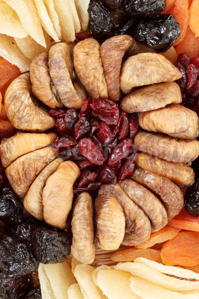 various dried exotic fruits Stock photo © artush