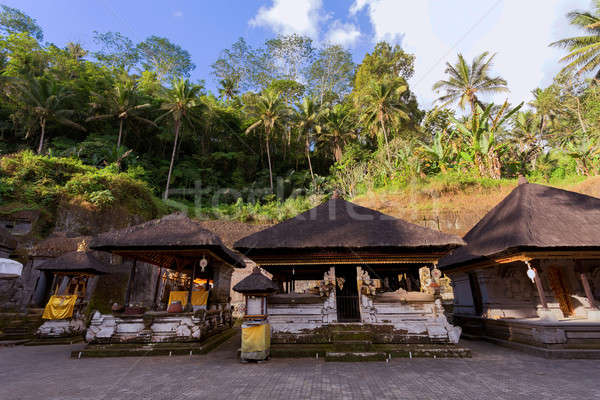 Tapınak bali Endonezya Asya eski nehir Stok fotoğraf © artush