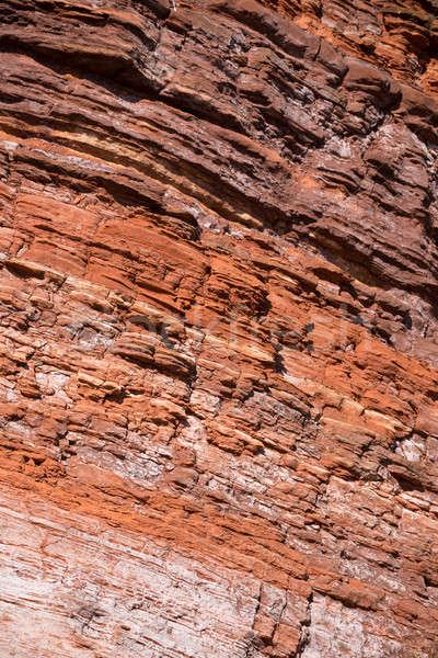 Red rock structure, texture Stock photo © artush