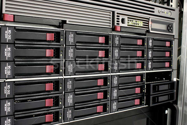data storage rack Stock photo © artush