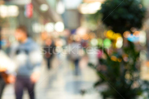 blurred background of shopping center Stock photo © artush