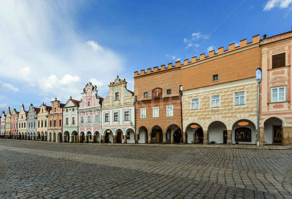 Telc, Czech Republic - Unesco city Stock photo © artush