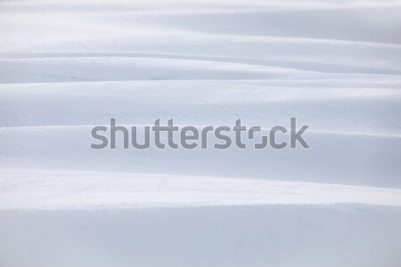 Winter snowdrift background Stock photo © artush