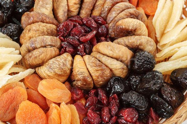 close up of various dried exotic fruits Stock photo © artush