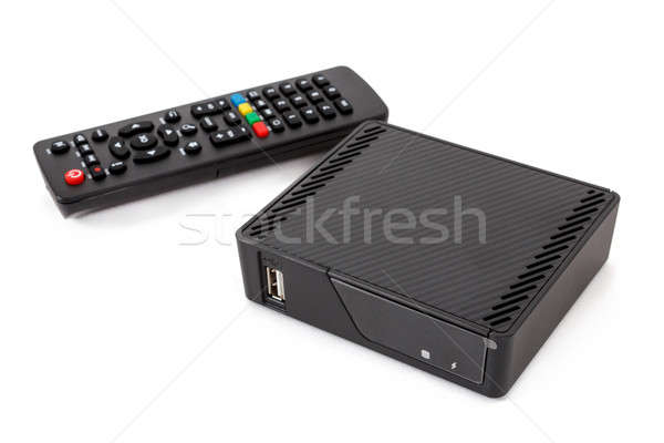 Android TV set top box receiver Stock photo © artush