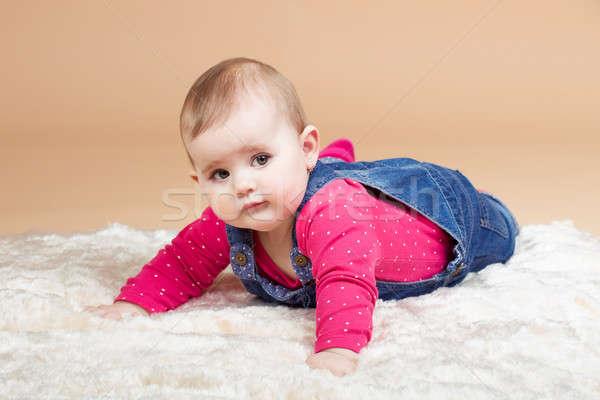 infant baby Stock photo © artush
