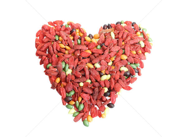 red dried goji berries traditional chinese herbal medicine Stock photo © artush