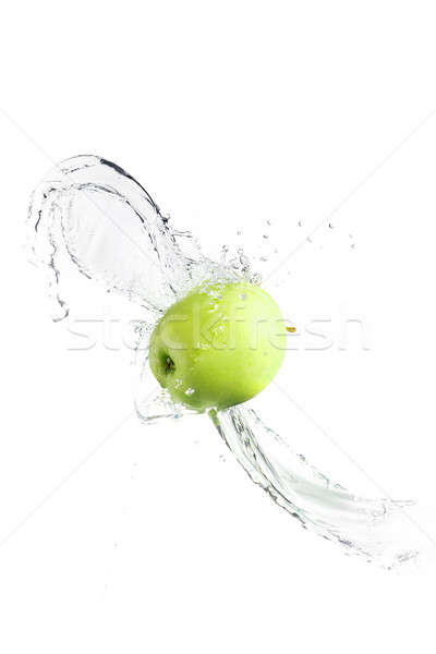 Verde manzana aislado blanco naturaleza Foto stock © artush