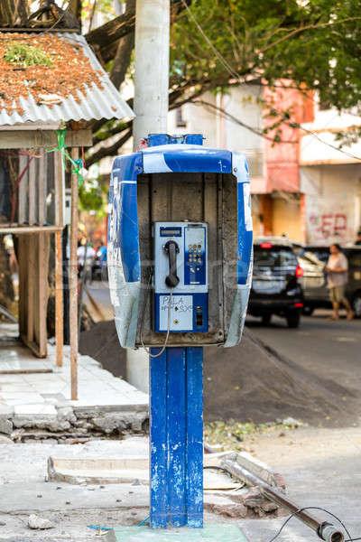 phone booth in Kota manado City Stock photo © artush