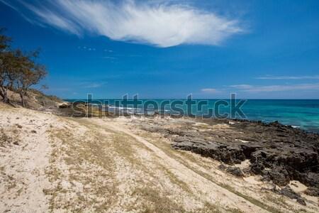 paradise rock beach in Madagascar, Antsiranana, Diego Suarez Stock photo © artush