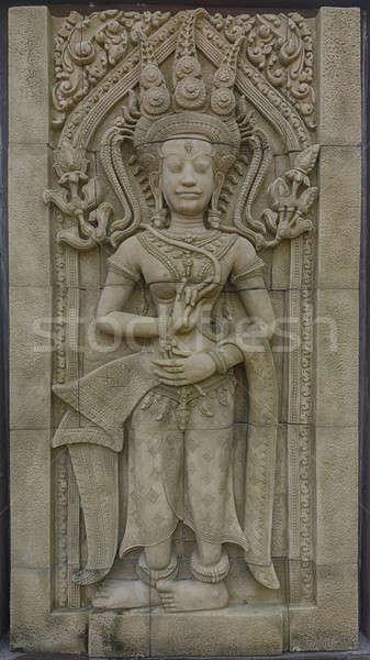 carving stone Stock photo © arztsamui