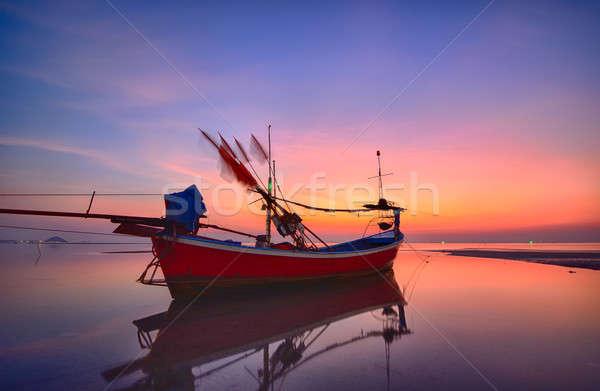 Motor boat Stock photo © arztsamui