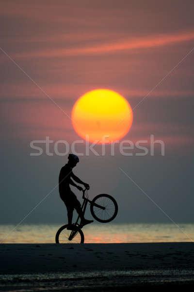 biker Stock photo © arztsamui