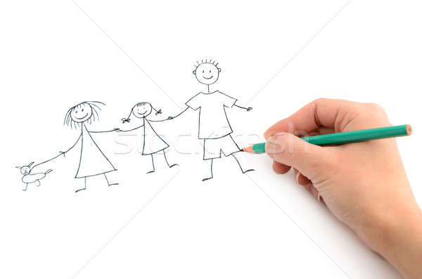 Happy family Stock photo © ashumskiy