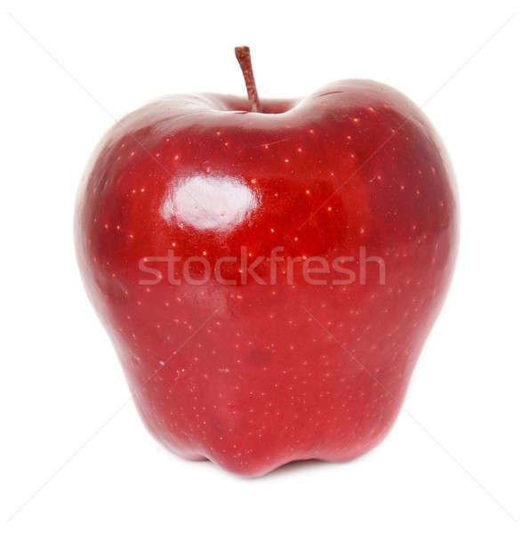 赤いリンゴ 孤立した 白 食品 果物 ストックフォト © ashumskiy