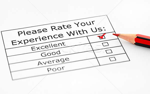 Excellent experience Stock photo © ashumskiy