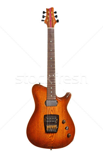 Beautiful electric guitar Stock photo © ashumskiy
