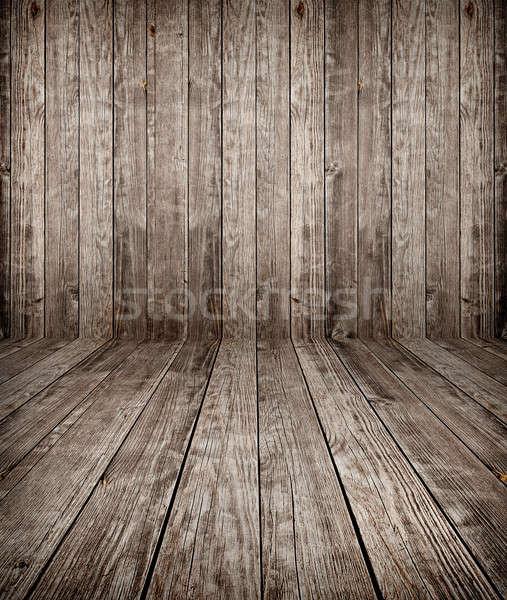 Stockfoto: Oud · hout · textuur · oude · verweerde · hout
