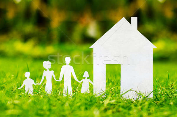 concept image of make your a house  Stock photo © ashumskiy