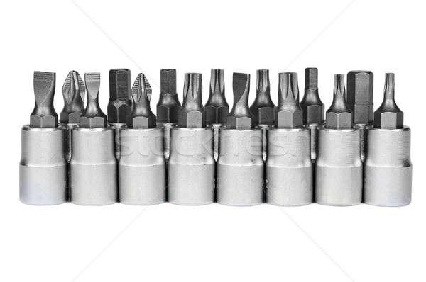 металлический строительство металл инструменты механиком Сток-фото © ashumskiy