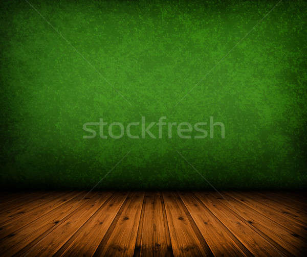 vintage green room Stock photo © ashumskiy